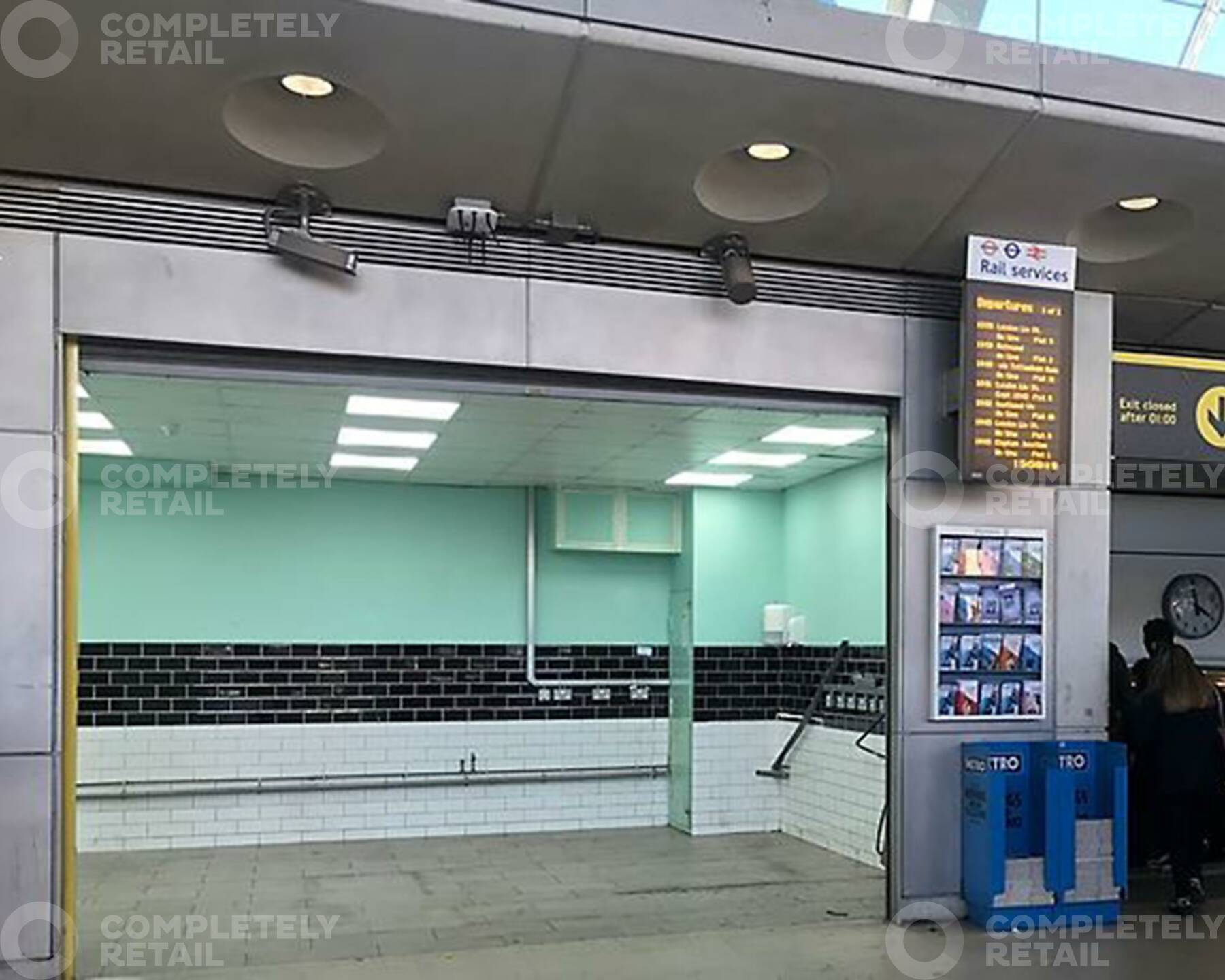 Unit 3, Southern Ticket Hall