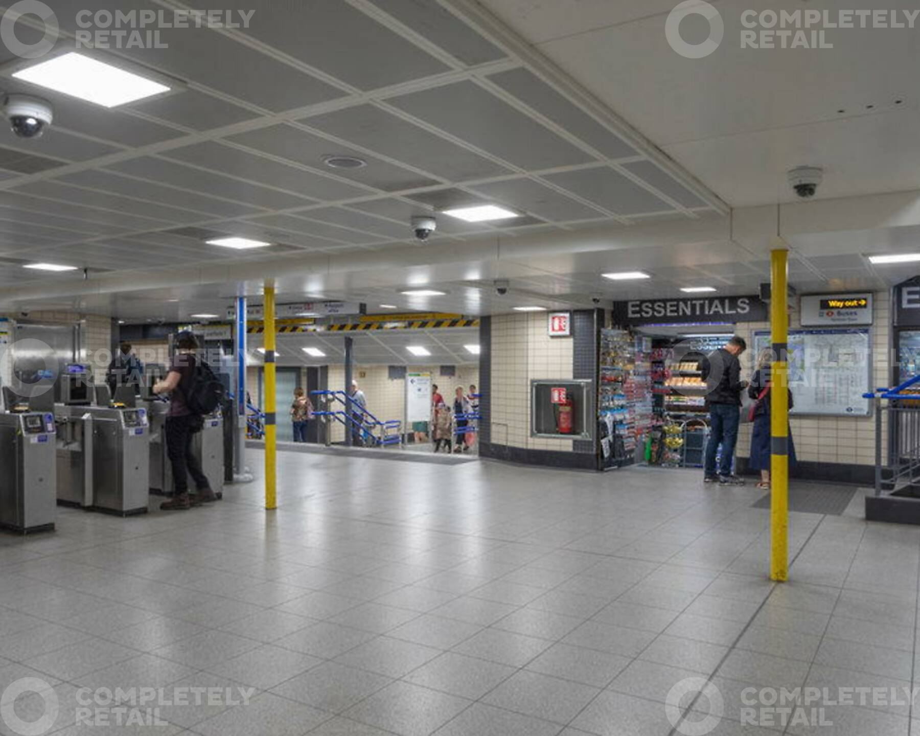District and Circle Line Ticket Hall Unit