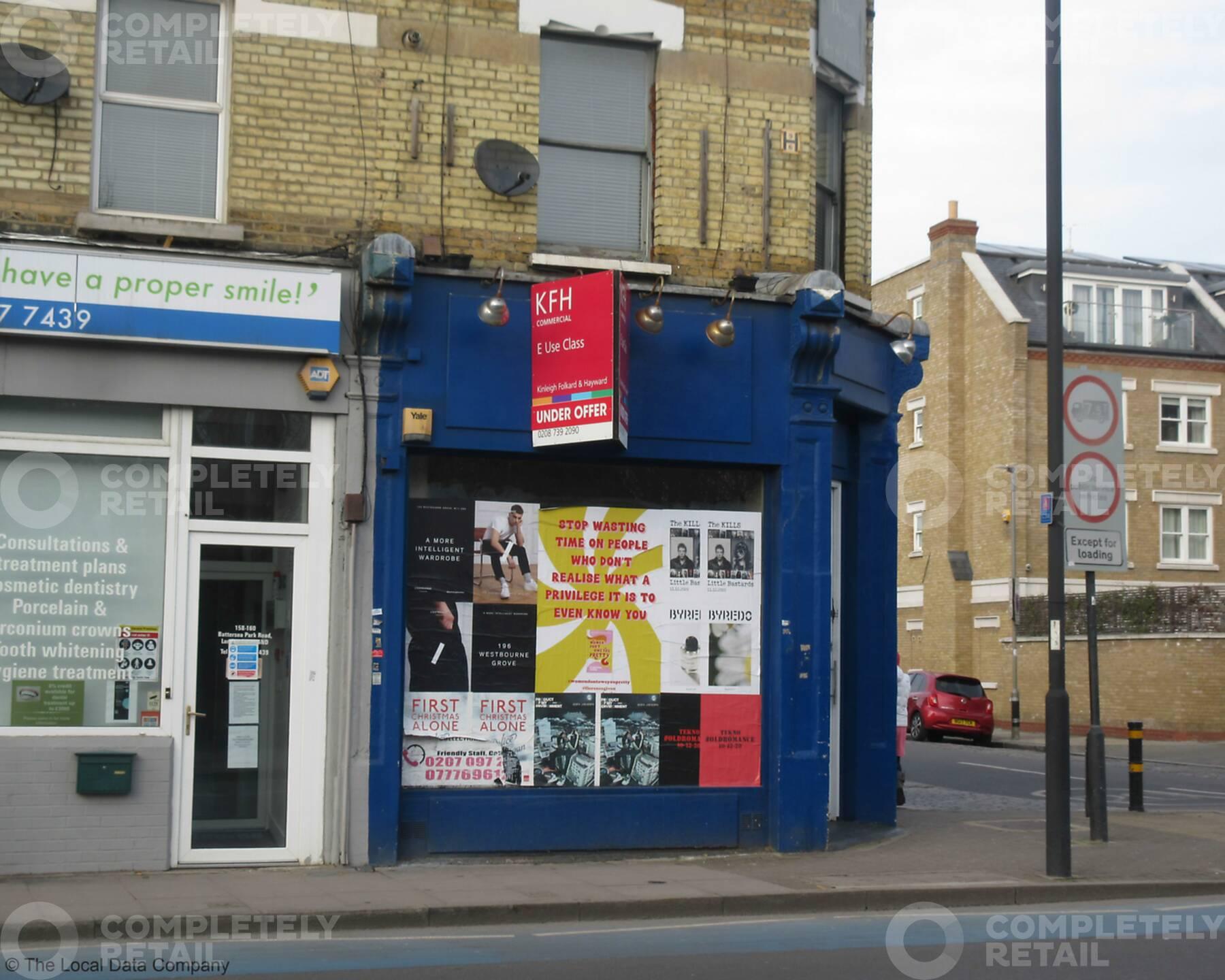 156 Battersea Park Road