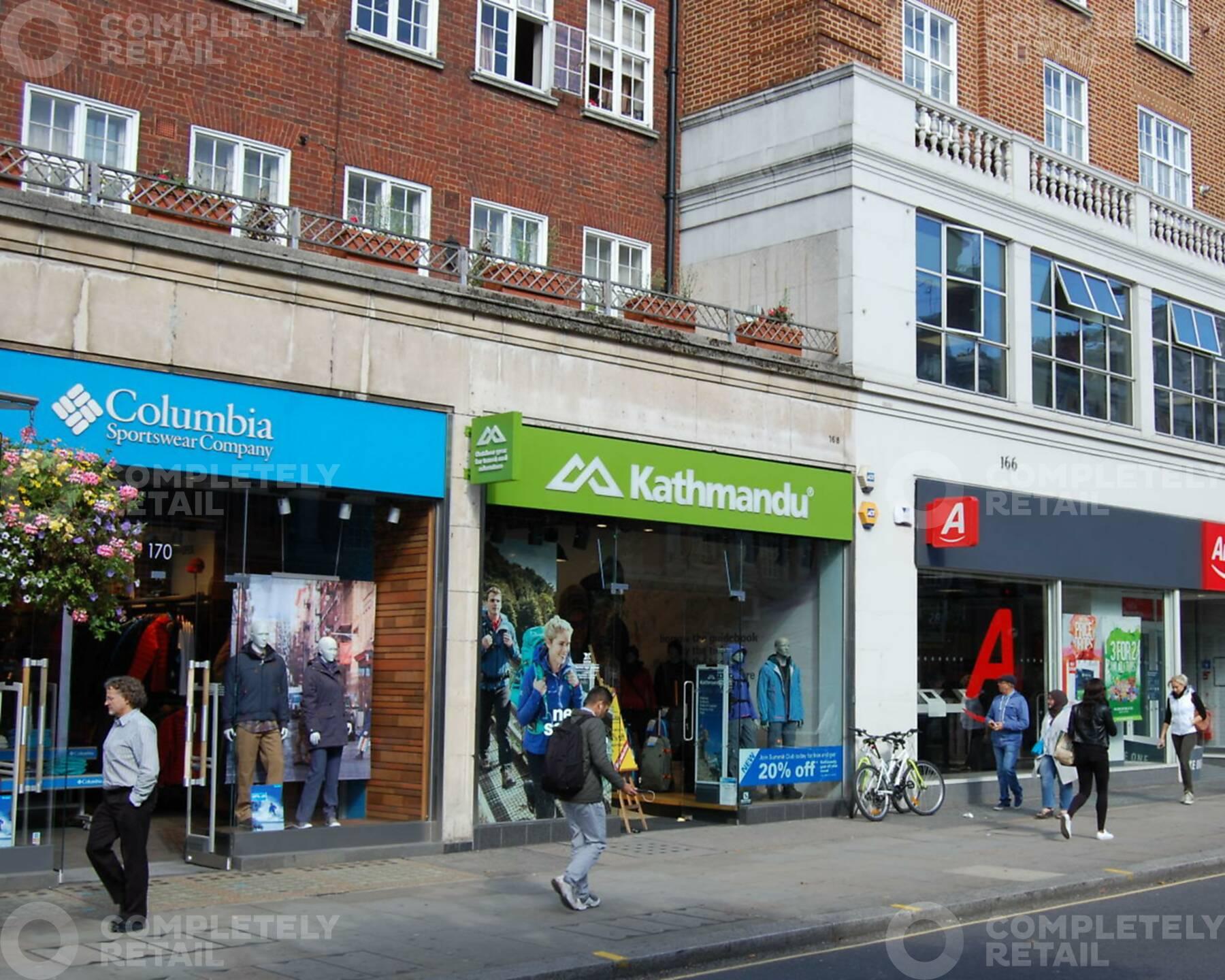 168 Kensington High Street