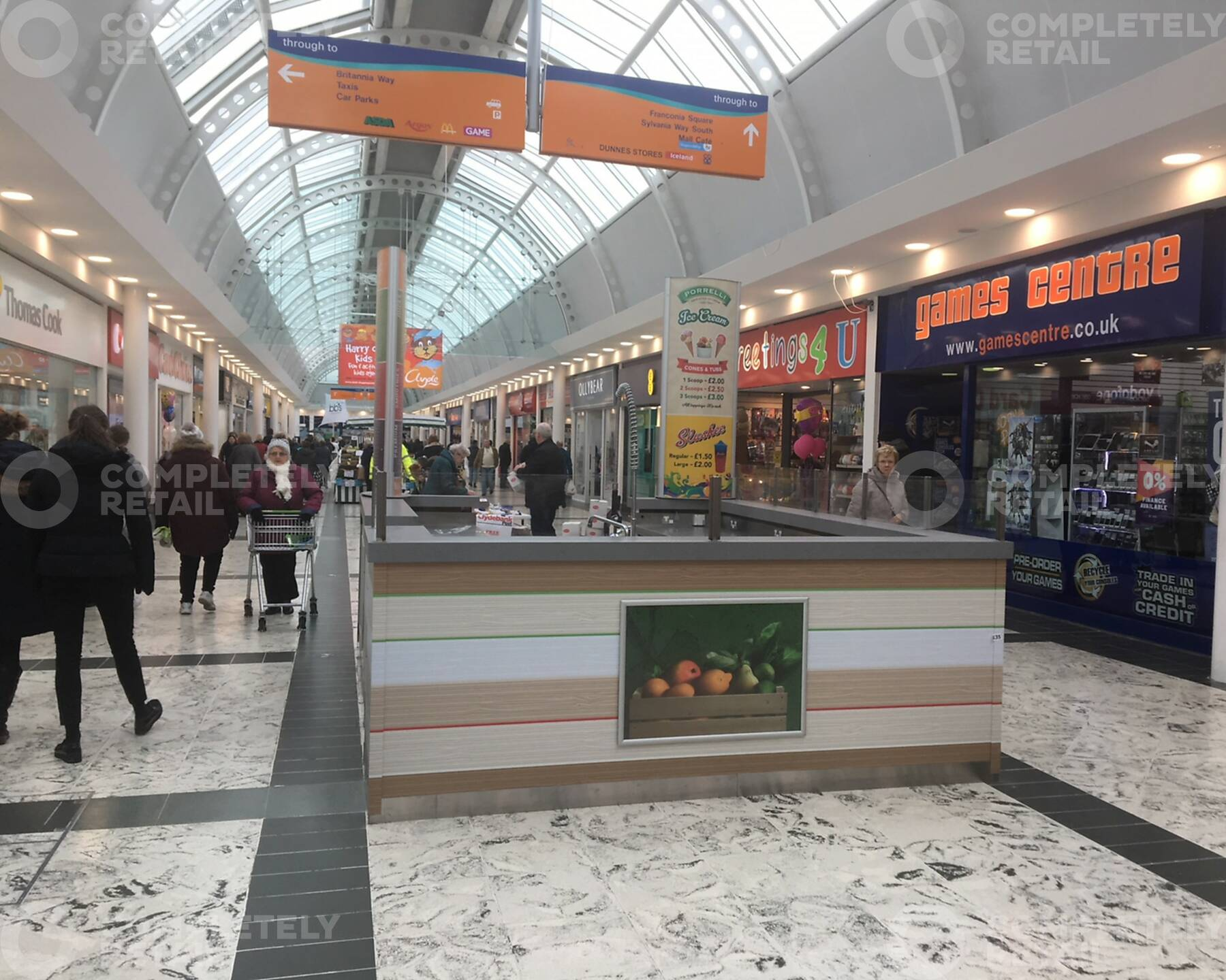 Invernia Square Kiosk