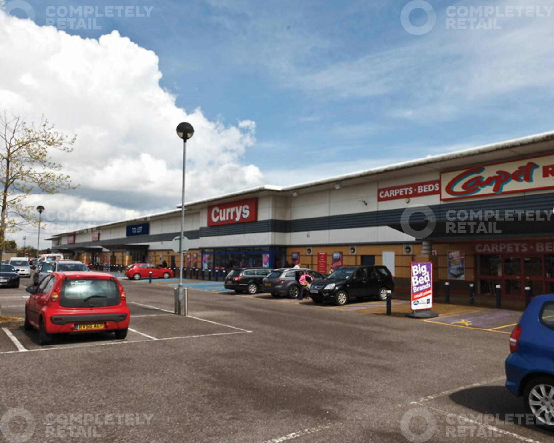 Brighton Hill Retail Park