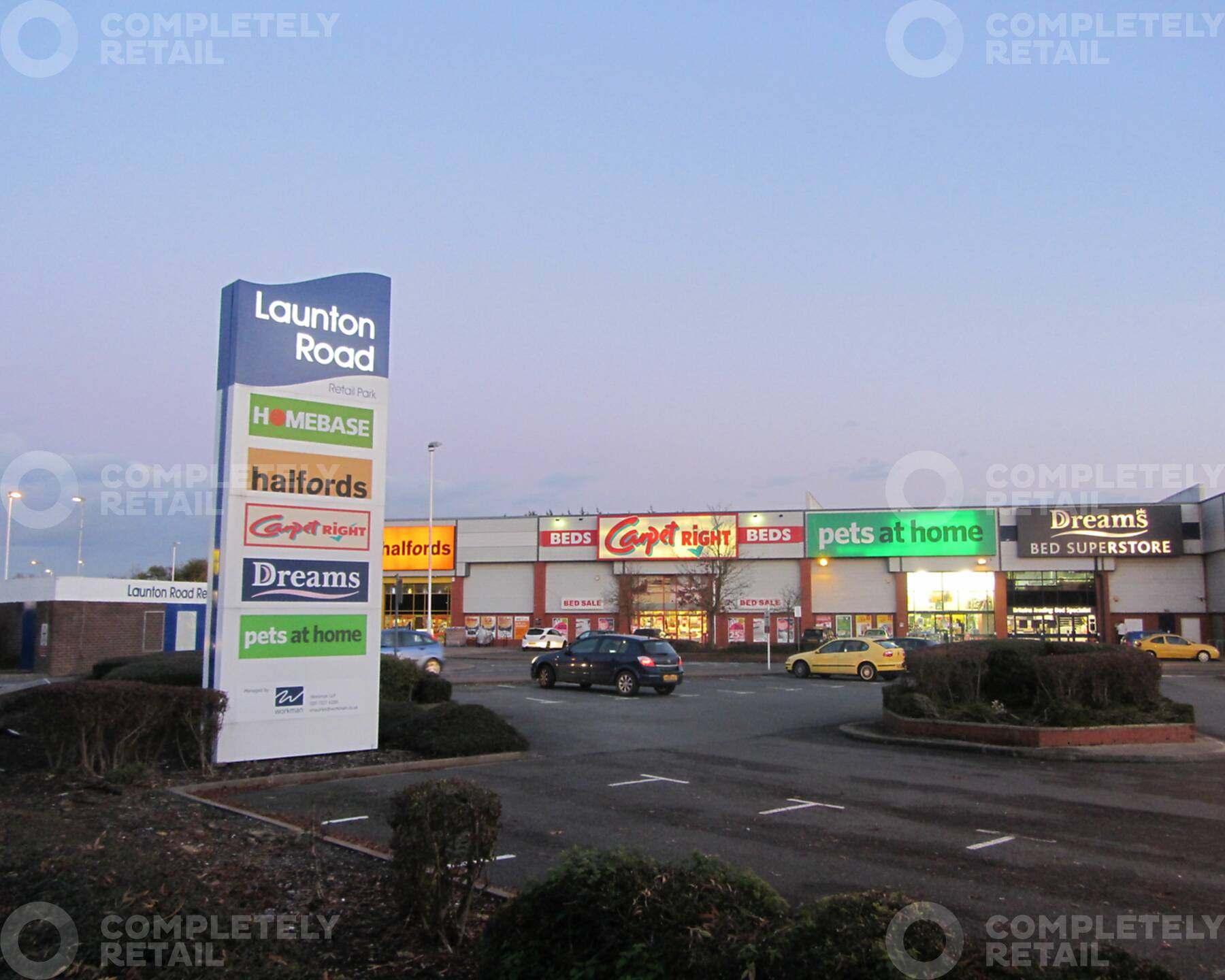 Launton Road Retail Park