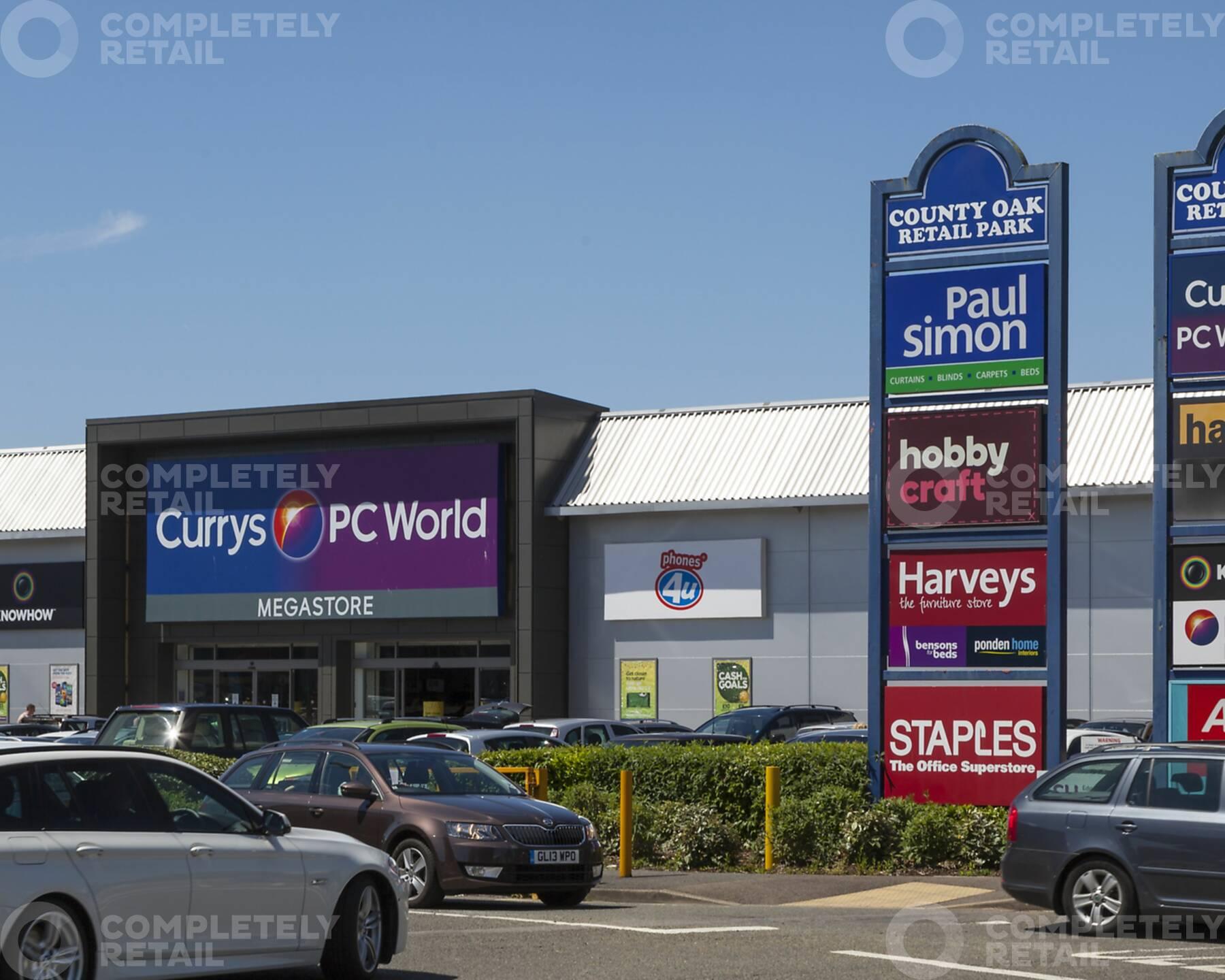 County Oak Retail Park