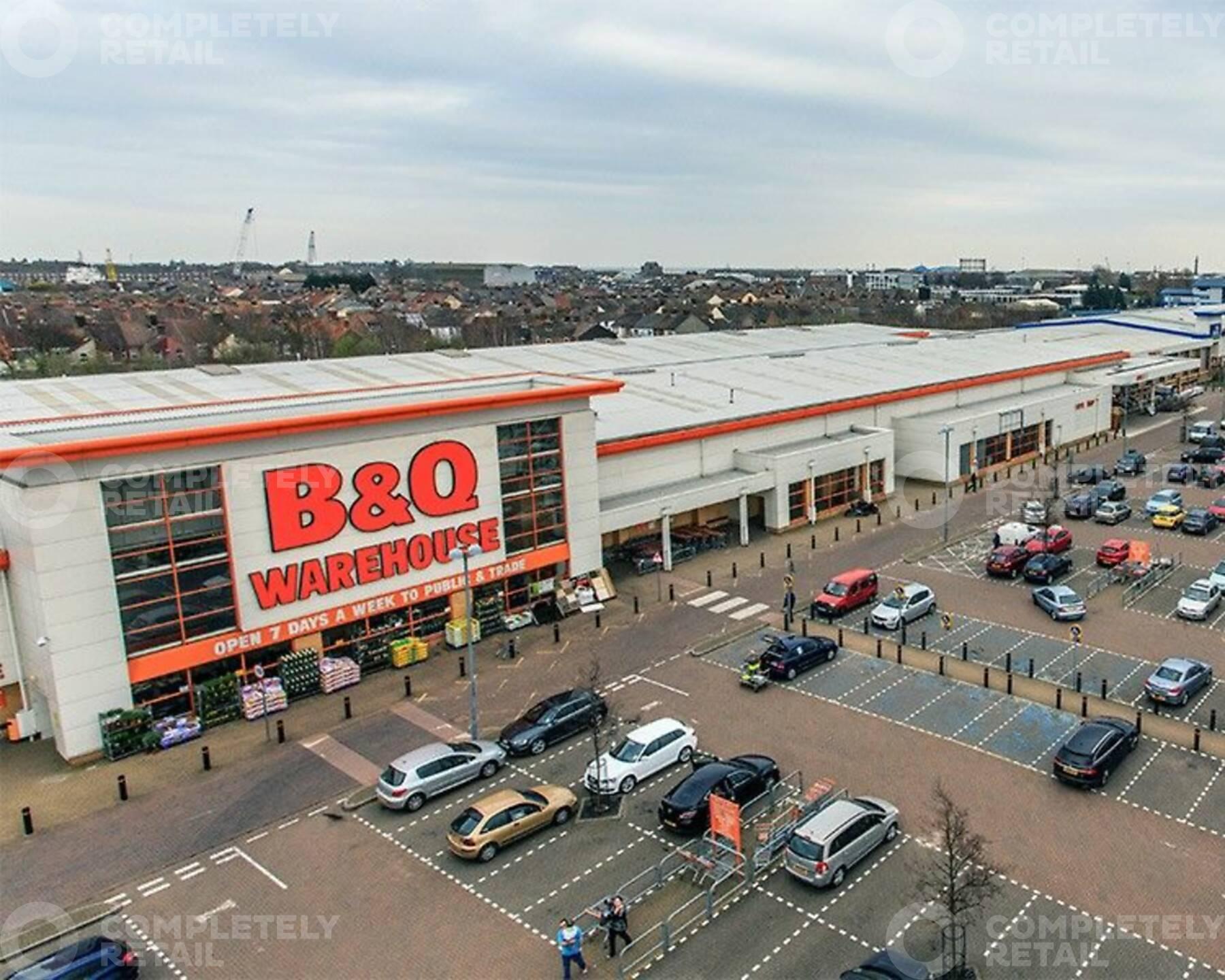 Pasteur Road Retail Park
