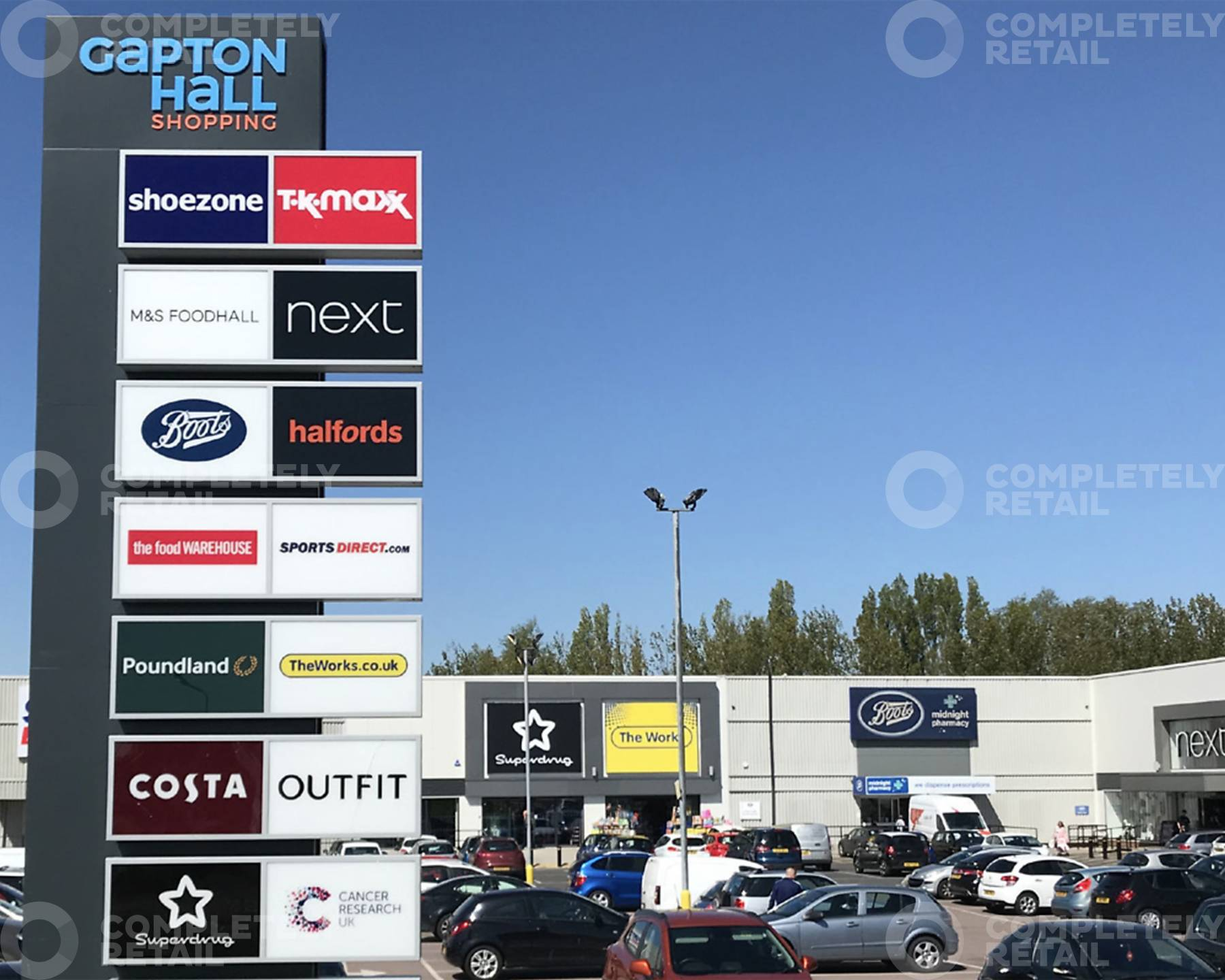 Gapton Hall Shopping Park
