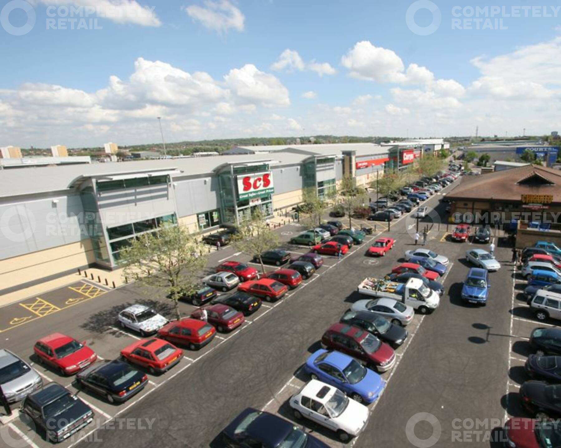 Staples Corner Retail Park