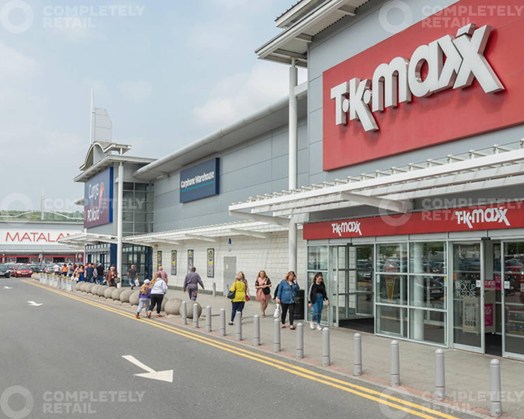 Cyfarthfa Shopping Park