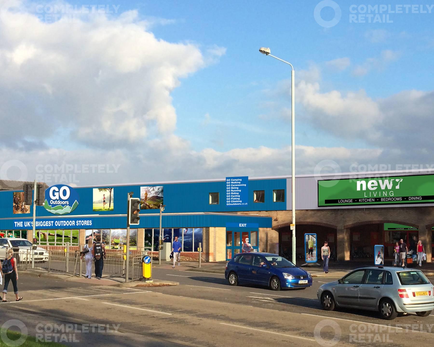 Mansfield Road Retail Park