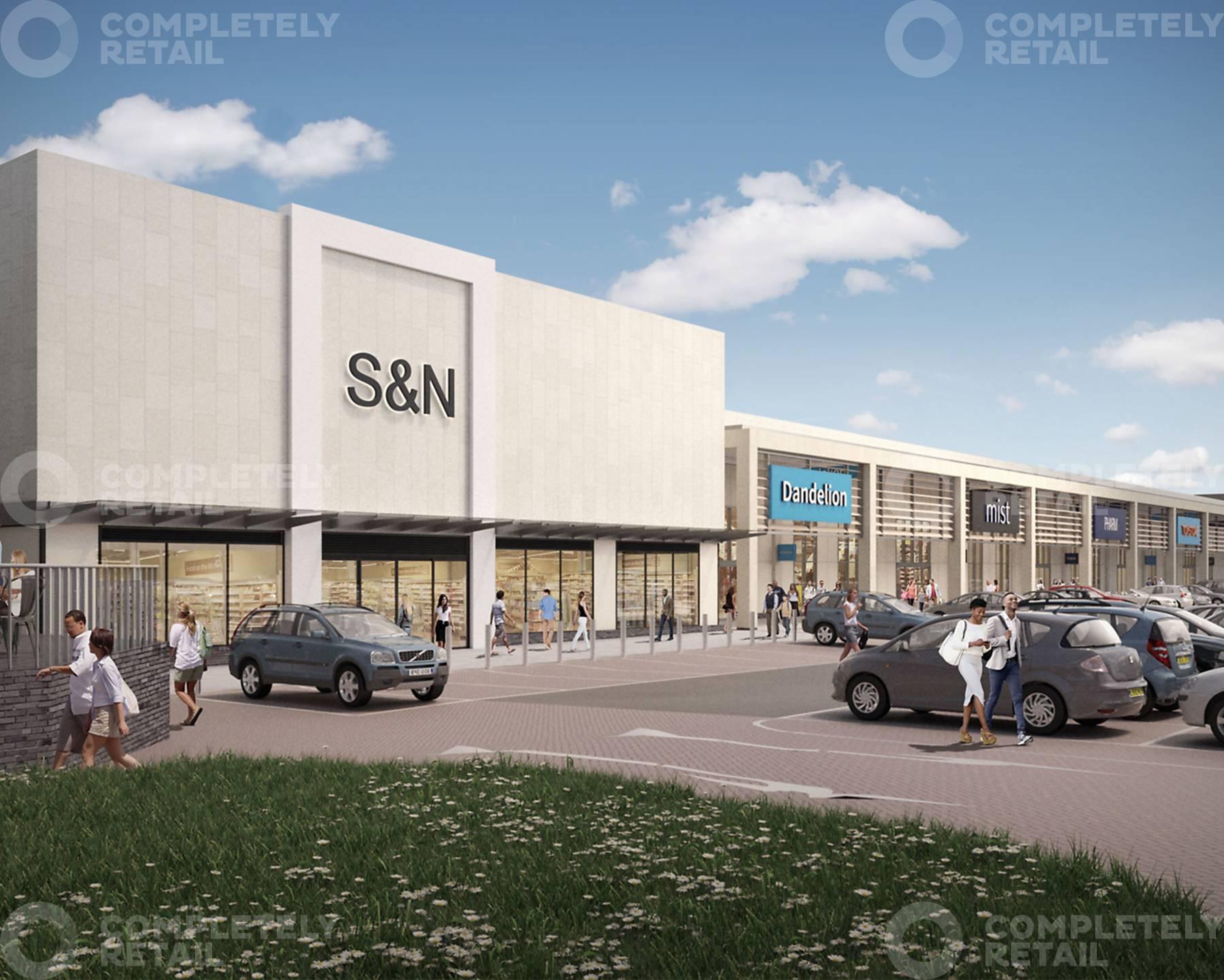 Maylands Gateway Retail Park