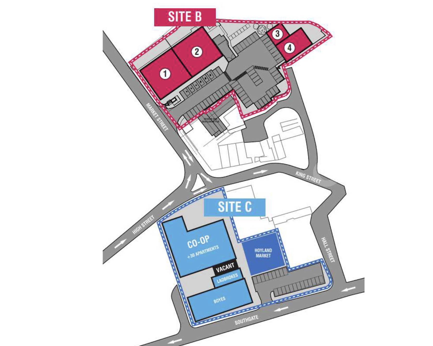 Hoyland Town Centre Redevelopment
