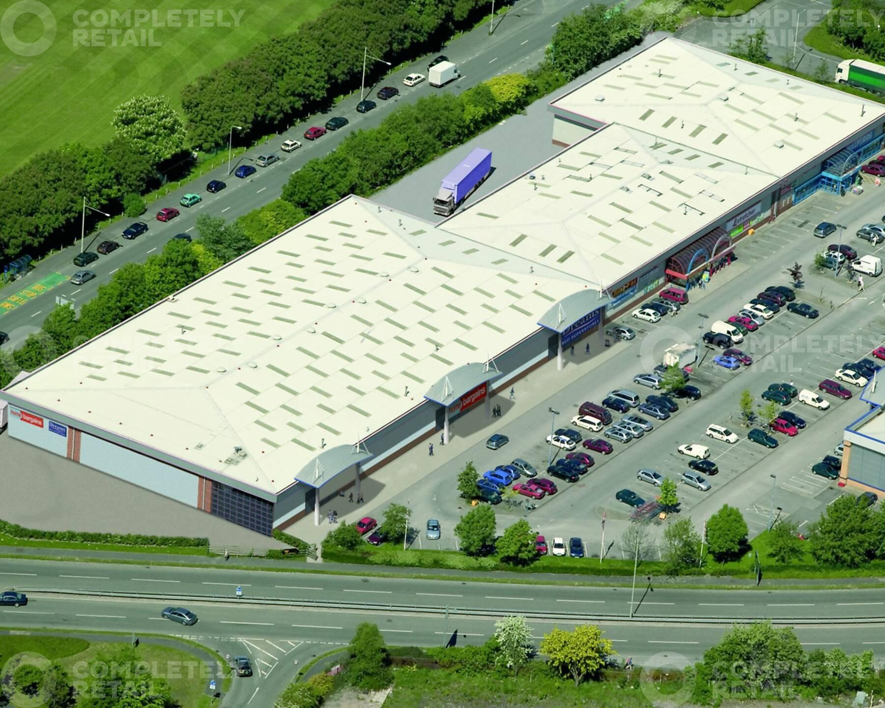 Pentrebach Retail Park