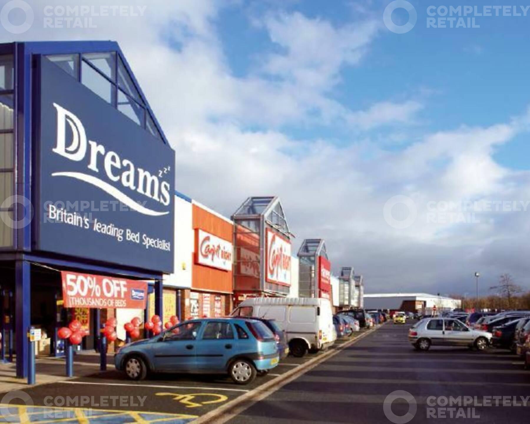 Lancaster City Retail Park