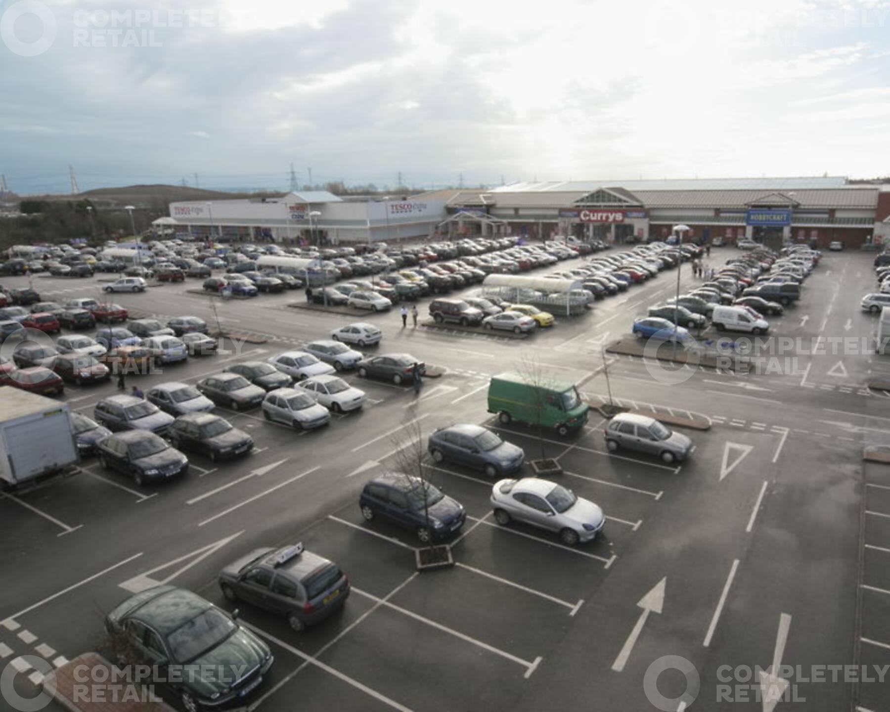 Harlech Retail Park