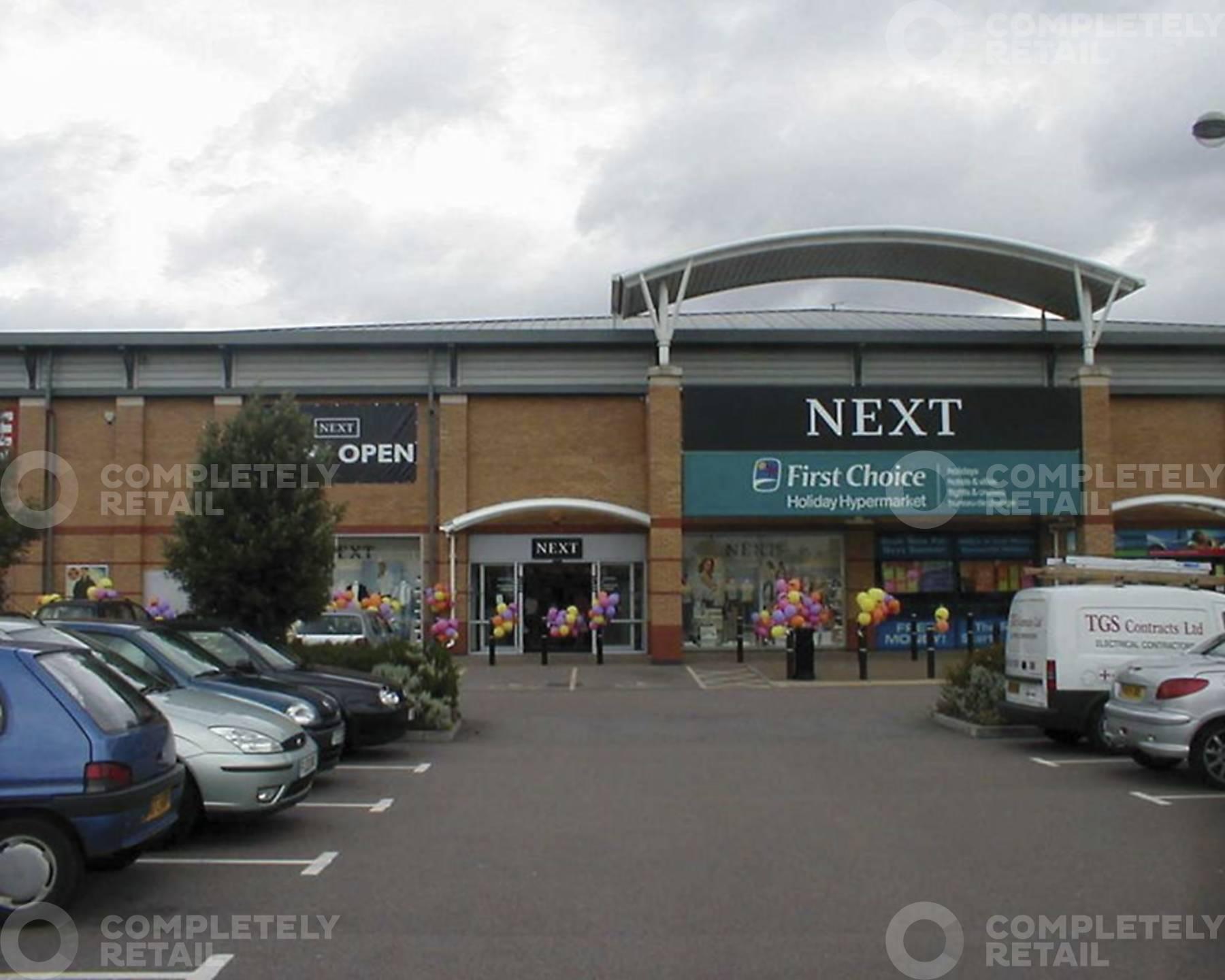 Sixfields Retail Park