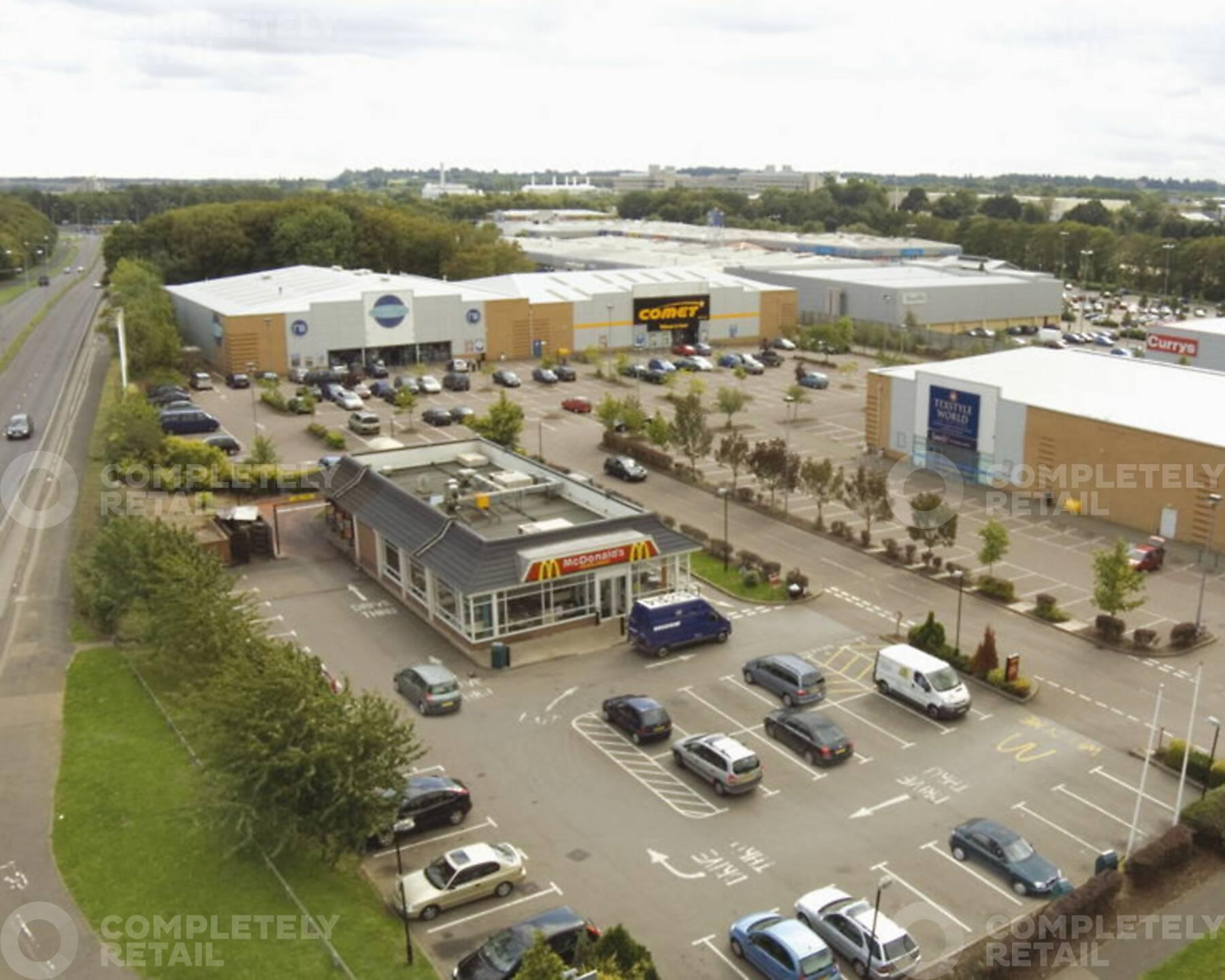Monkswood Retail Park
