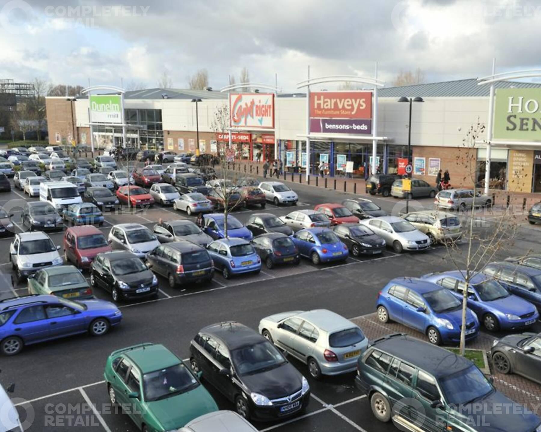 Priory Fields Retail Park