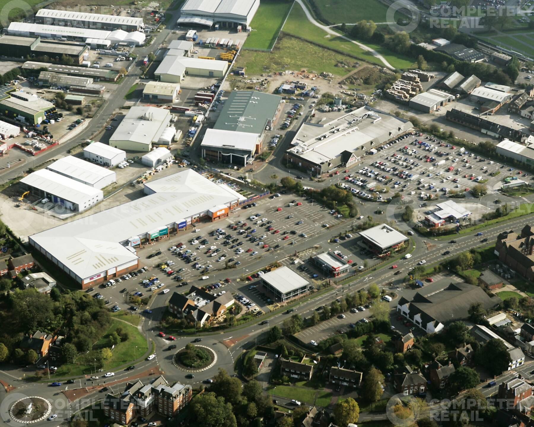 Dovefields Retail Park