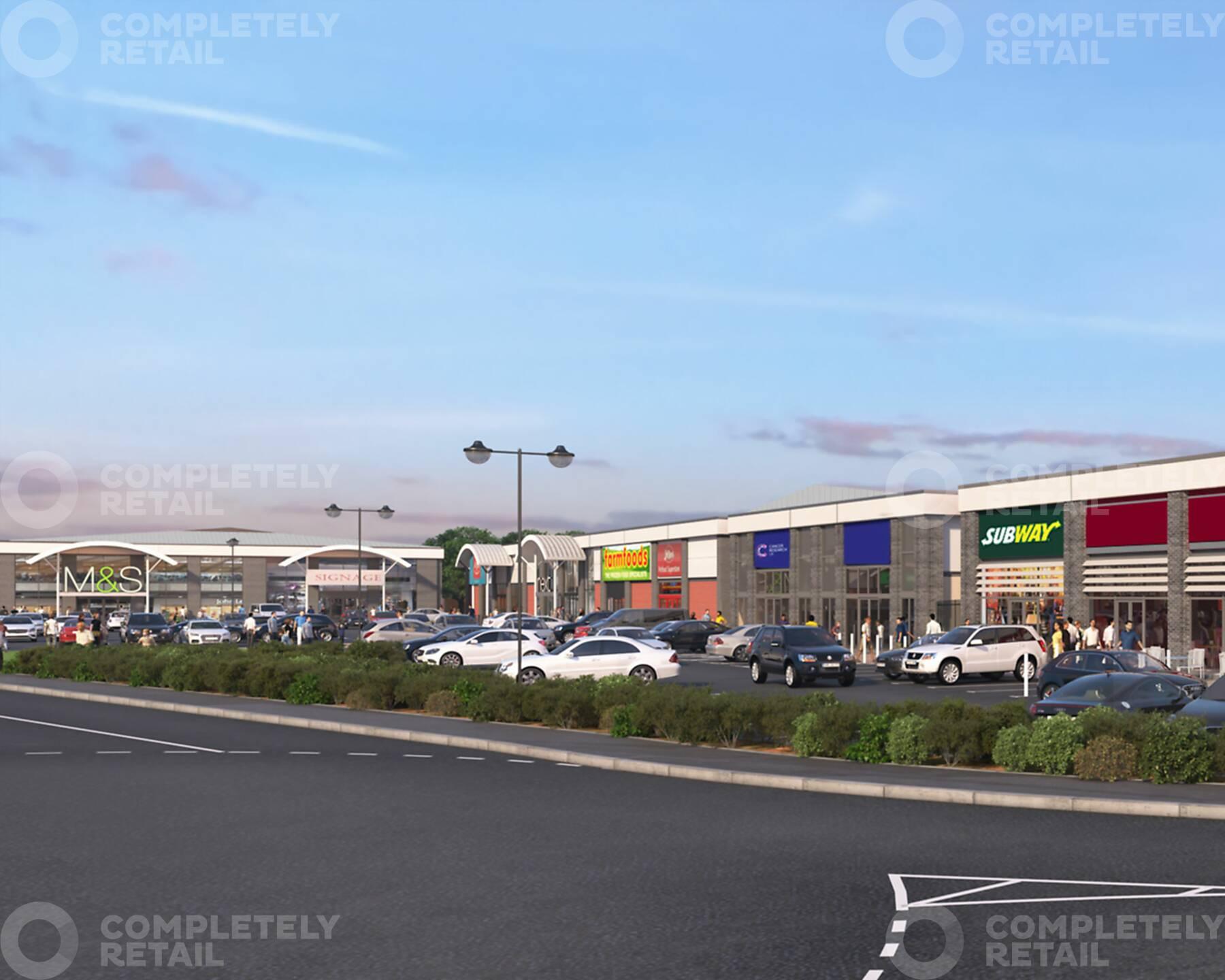 Bridgwater Retail Park
