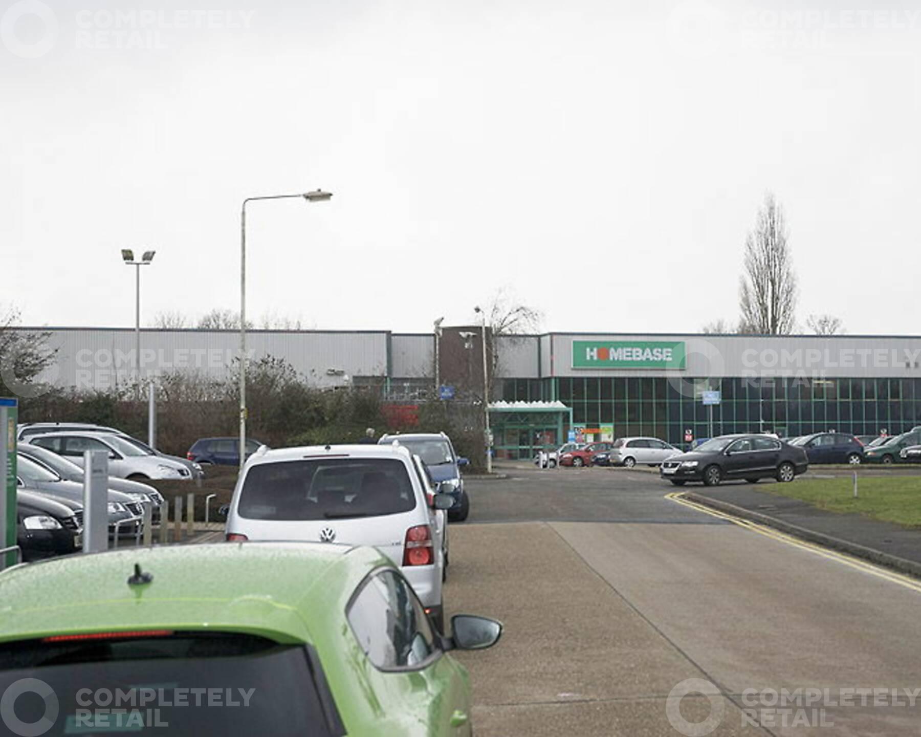 Alban Retail Park - Homebase