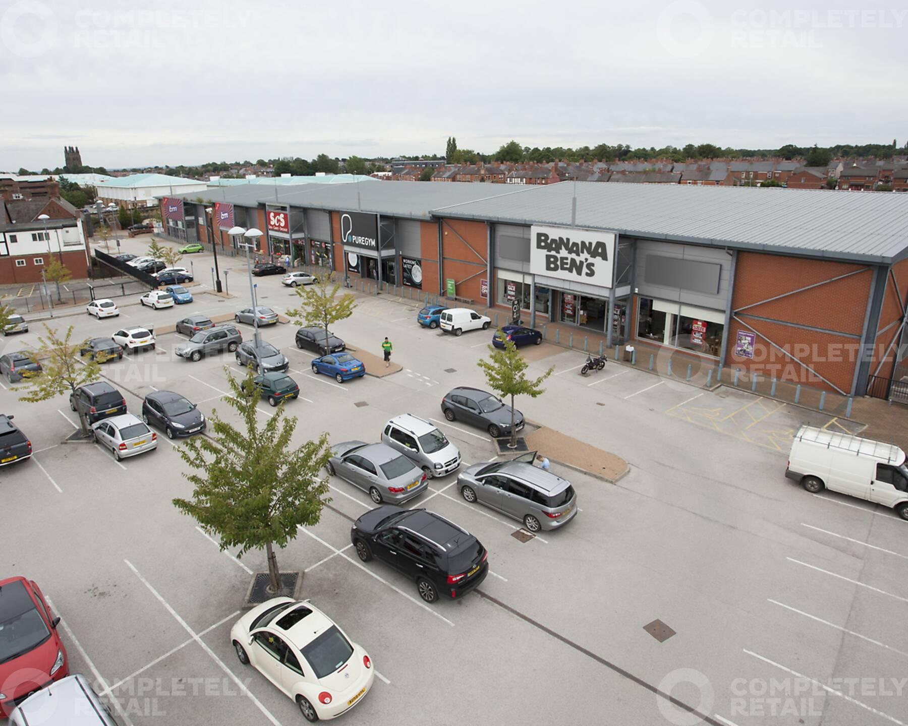 Wrexham Central Retail Park