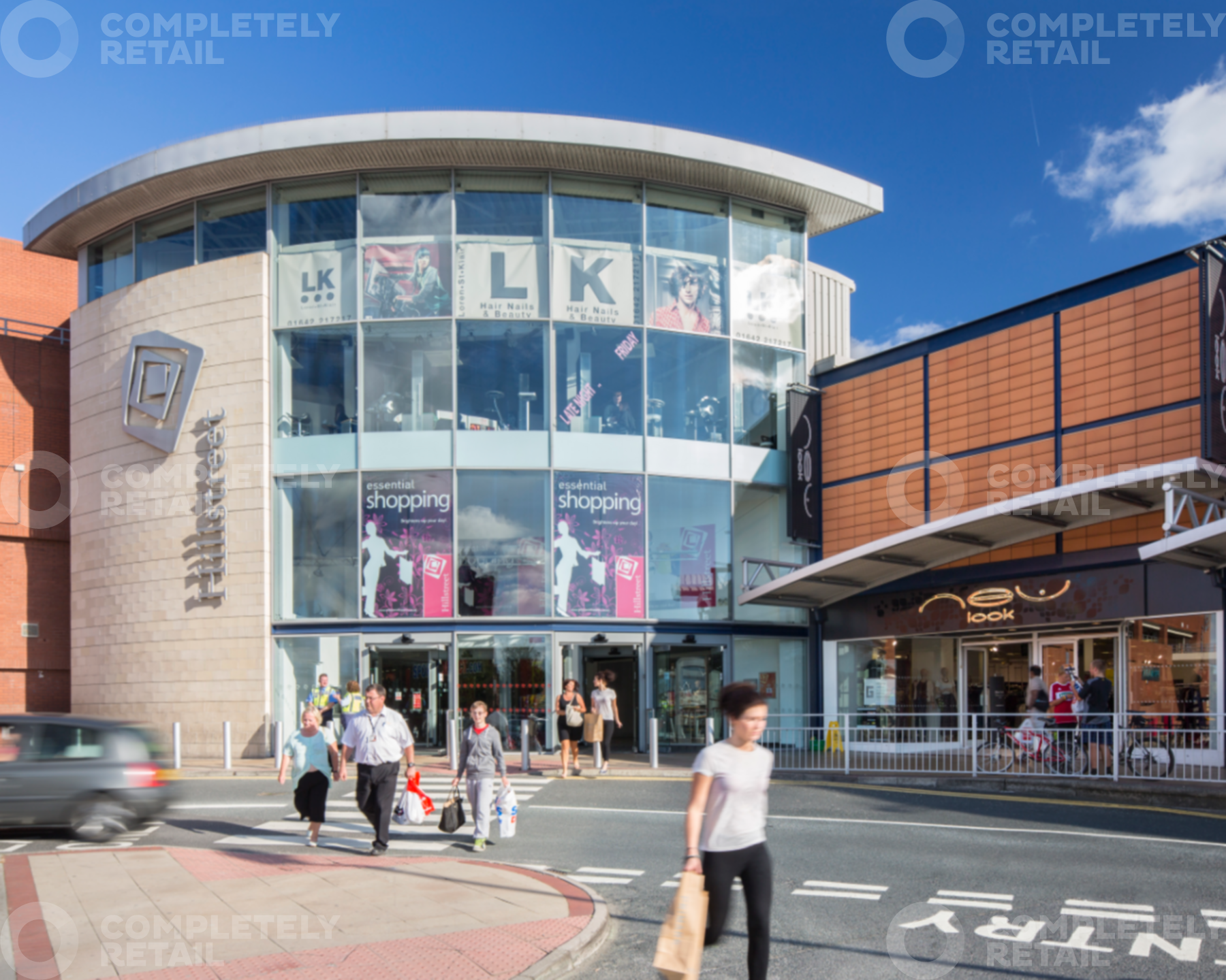 Hillstreet Shopping Centre