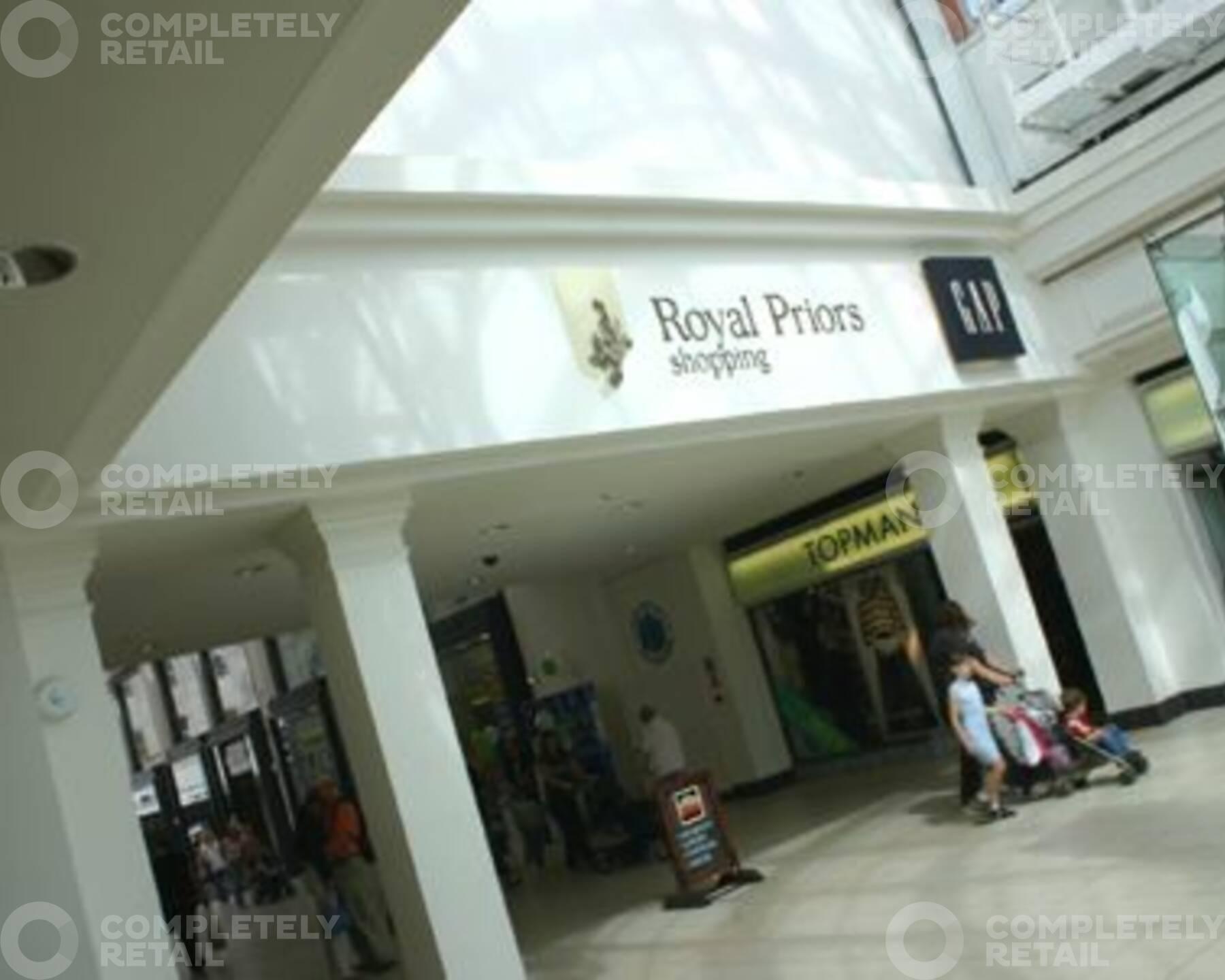 Royal Priors Shopping