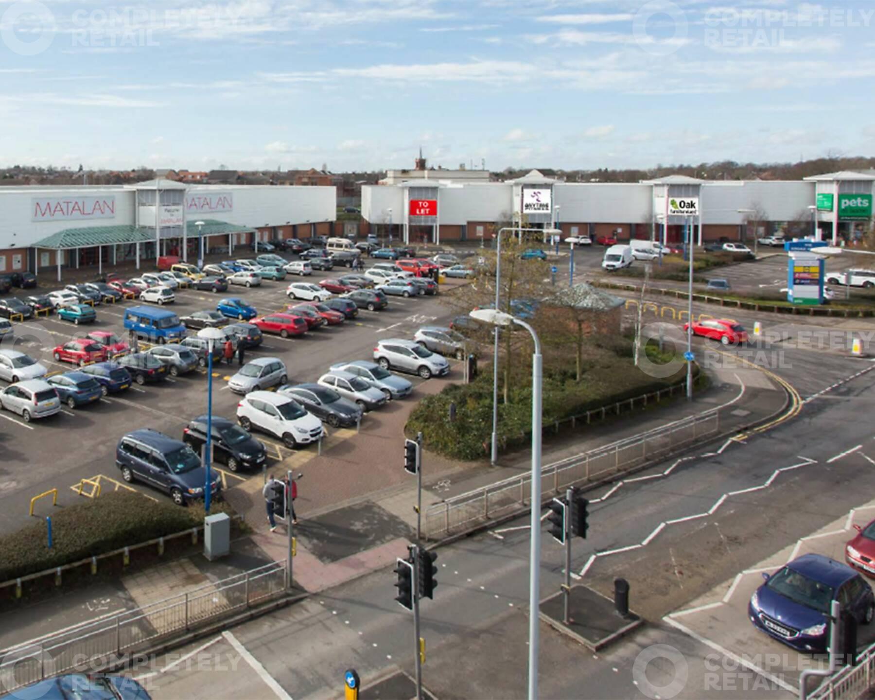 The Broad Centre Retail Park