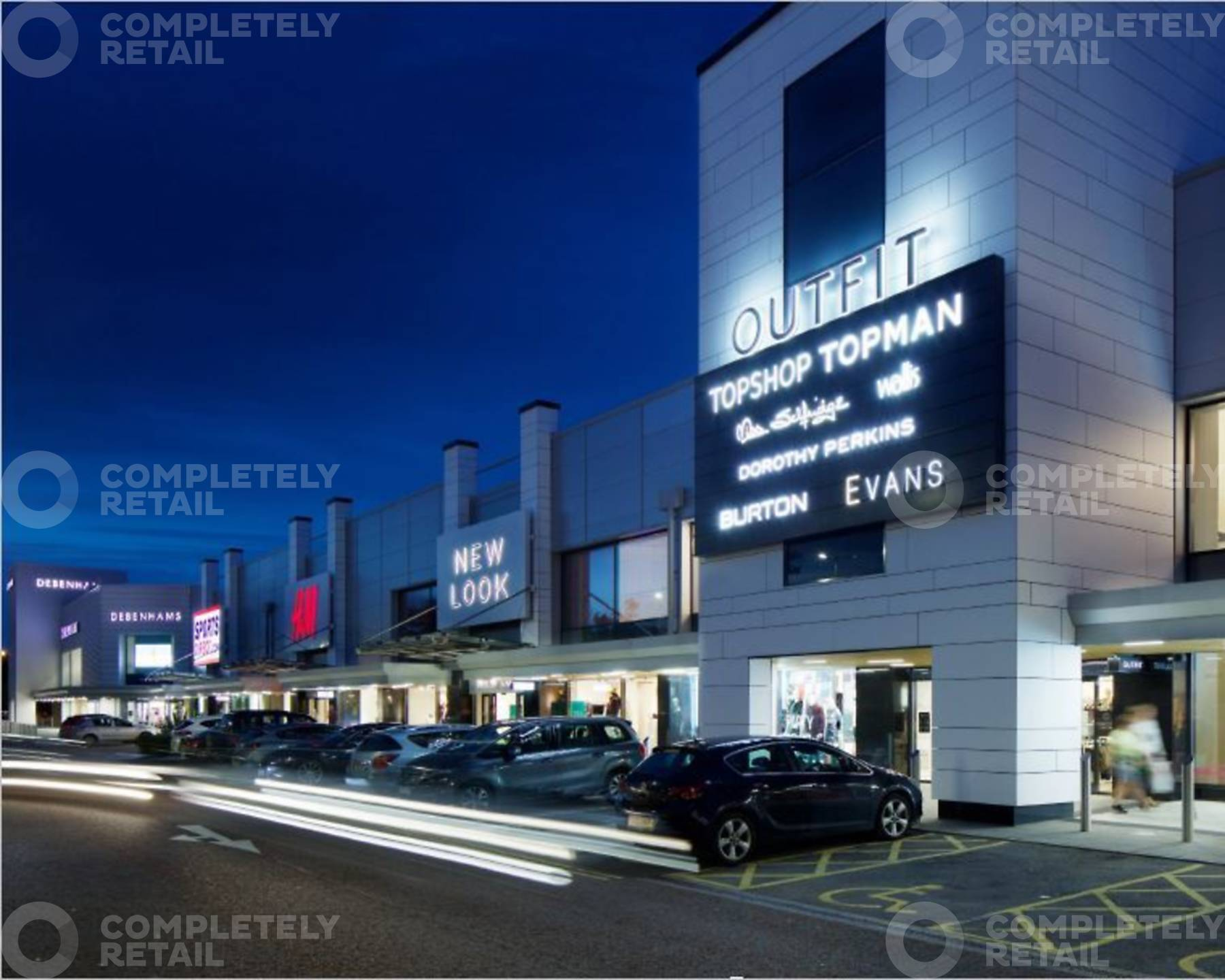 The Crown Estate Shopping Centres Completely Property