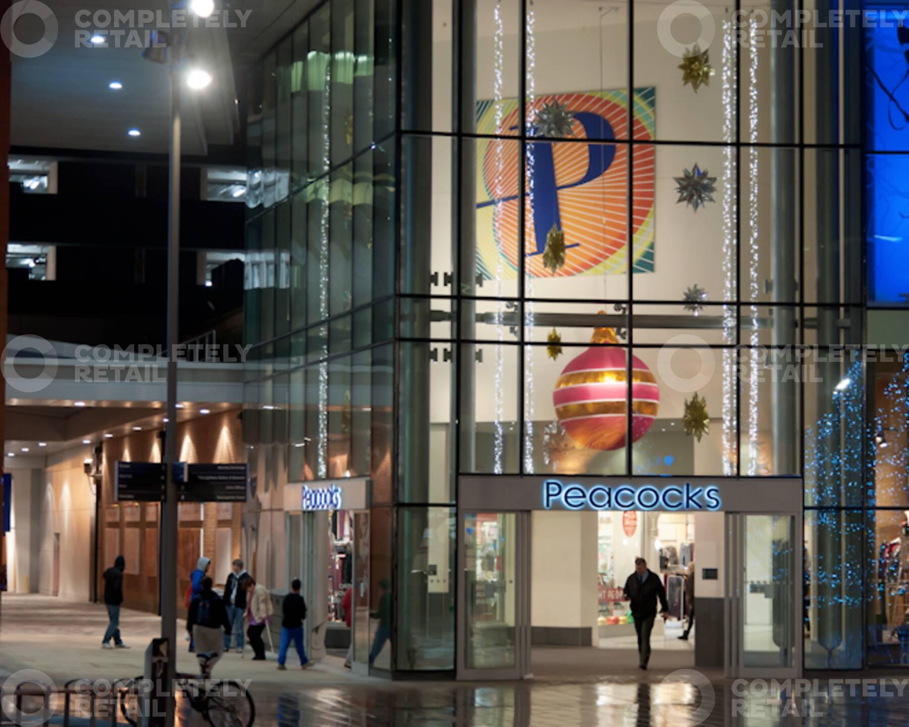 The Peacocks Shopping Centre