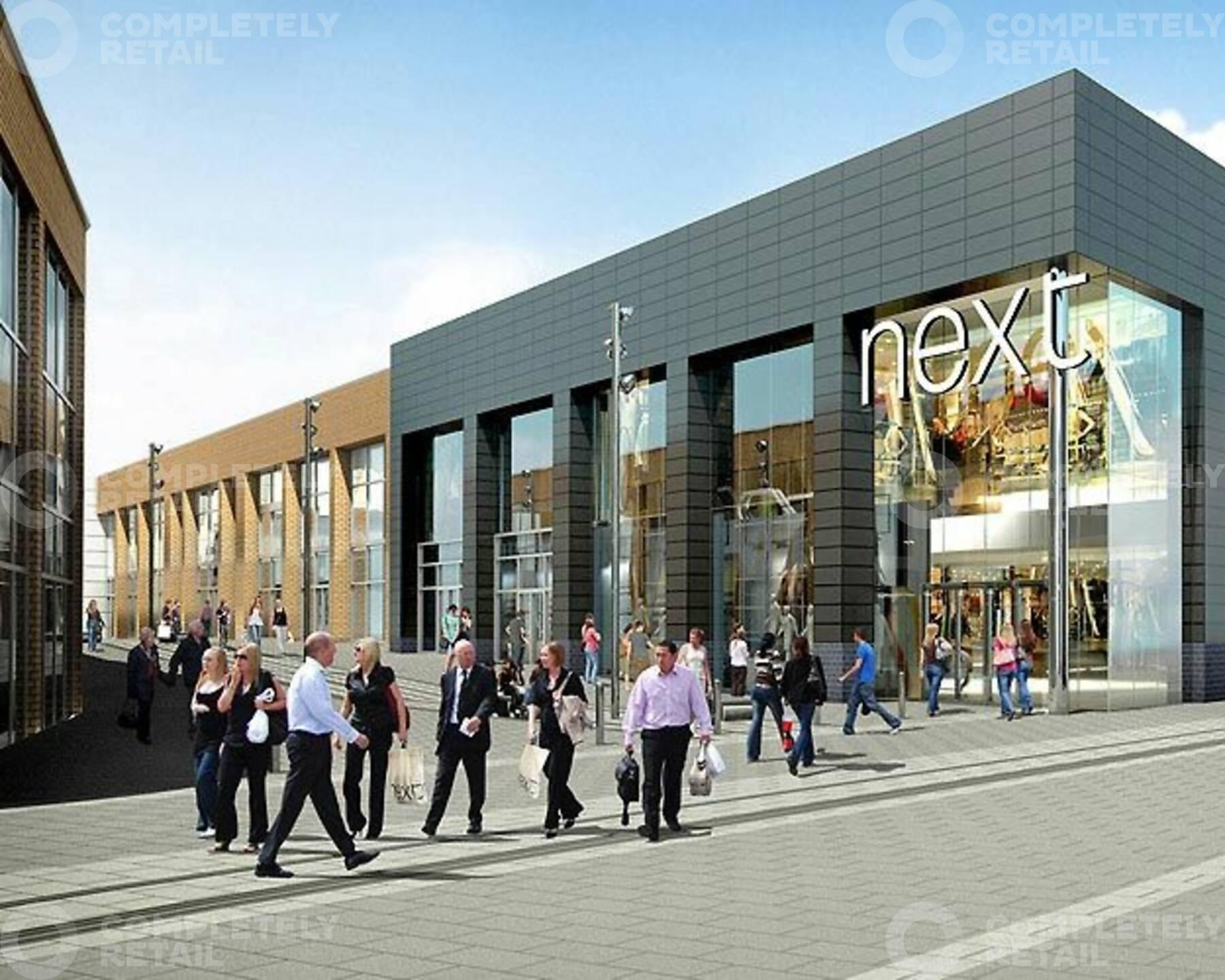 Burnley Town Centre redevelopment