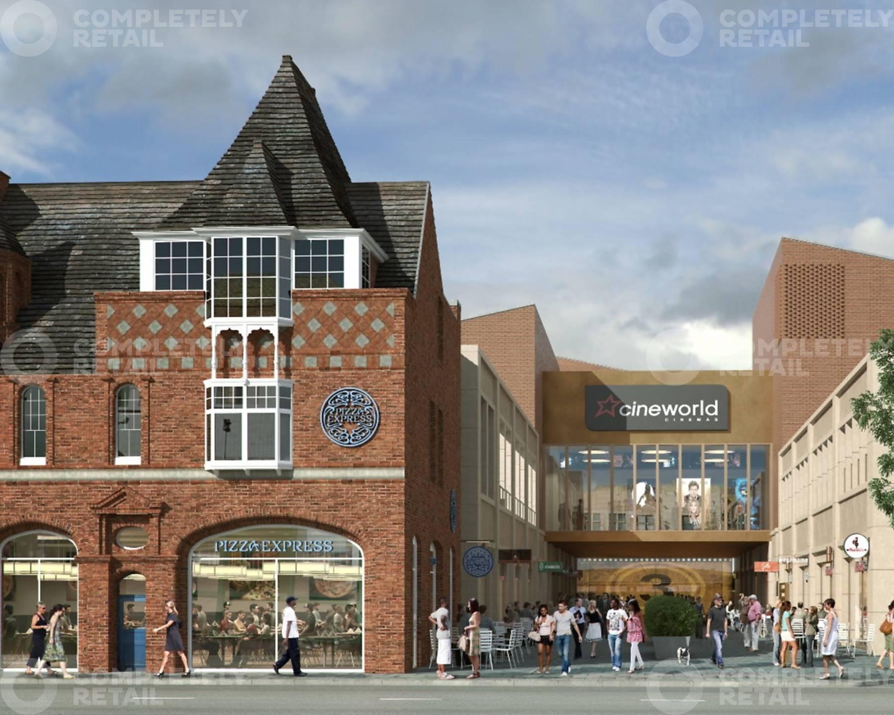 Baxter Gate Retail Park Loughborough Completely Property
