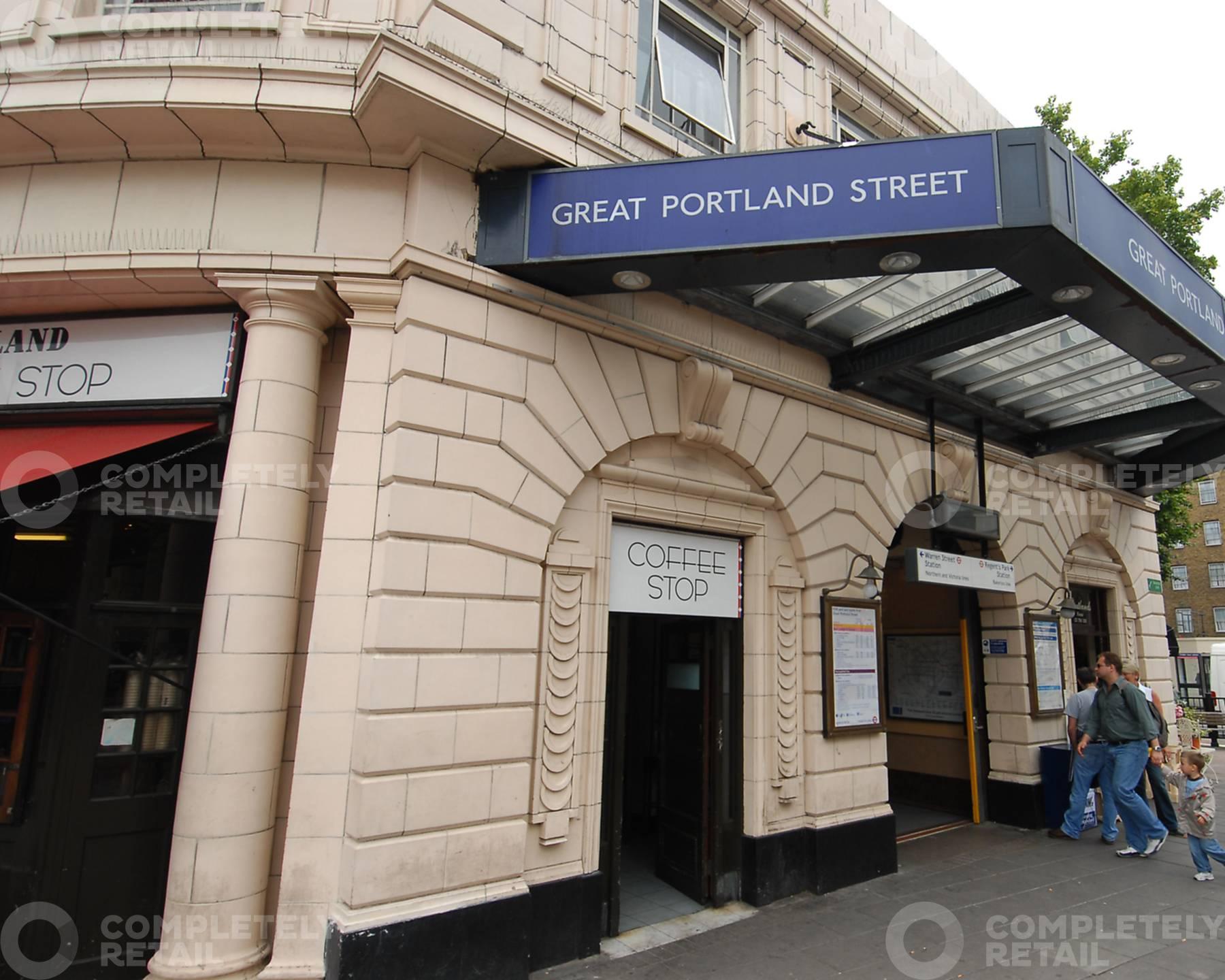 Great Portland Street Underground Station