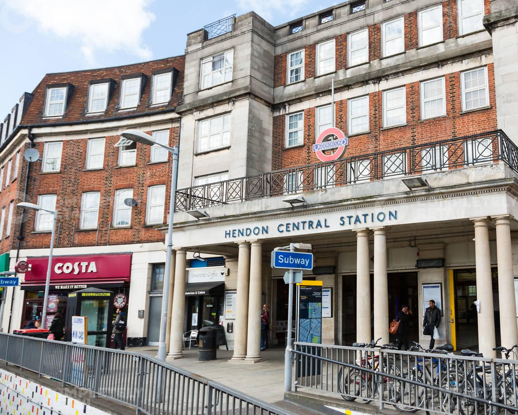 Hendon Central Underground Station