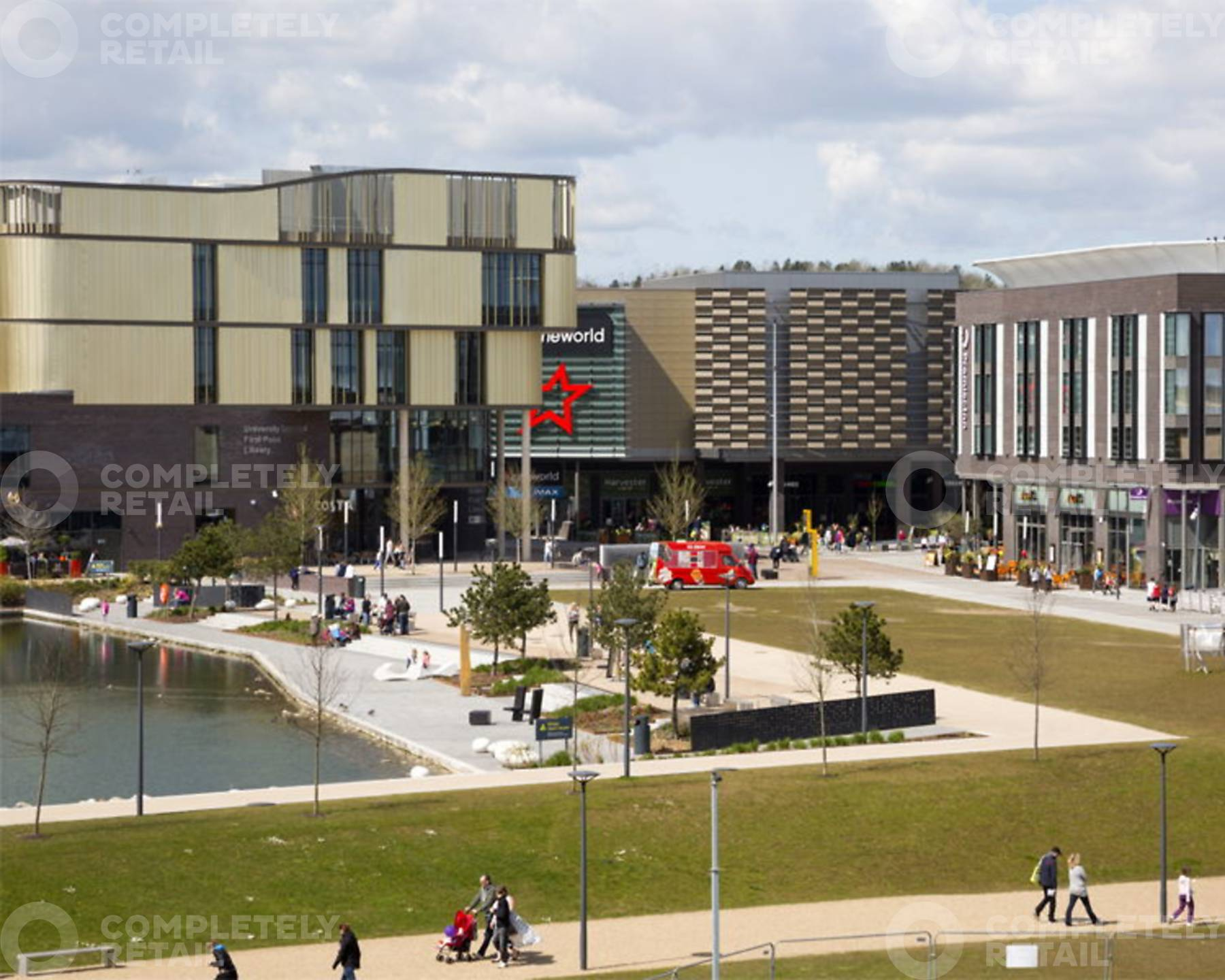 Southwater Square Leisure Telford Completely Property