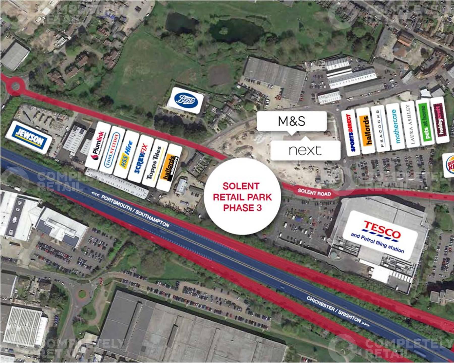 Solent Retail Park - Phase 3