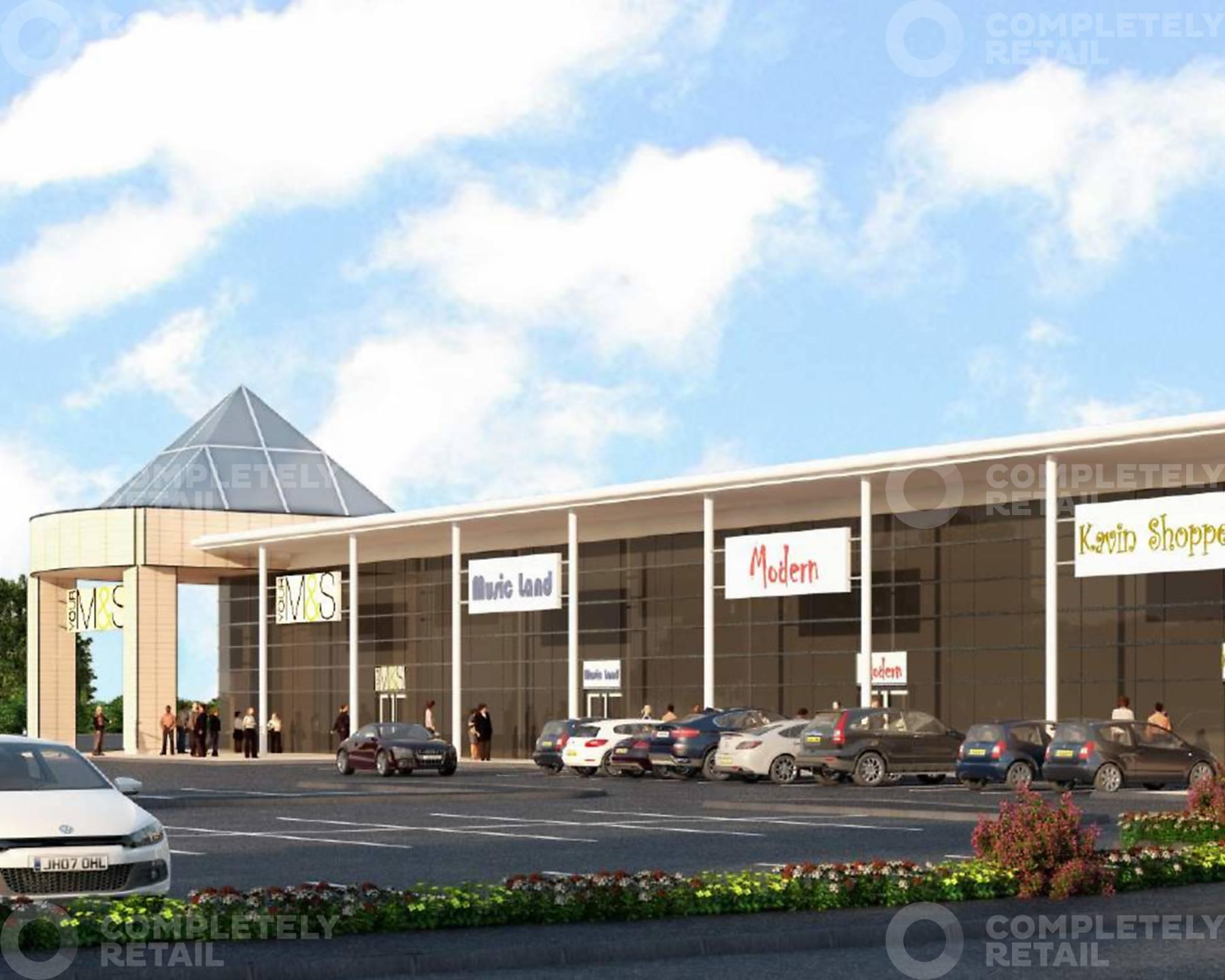 Solent Retail Park - Phase 2