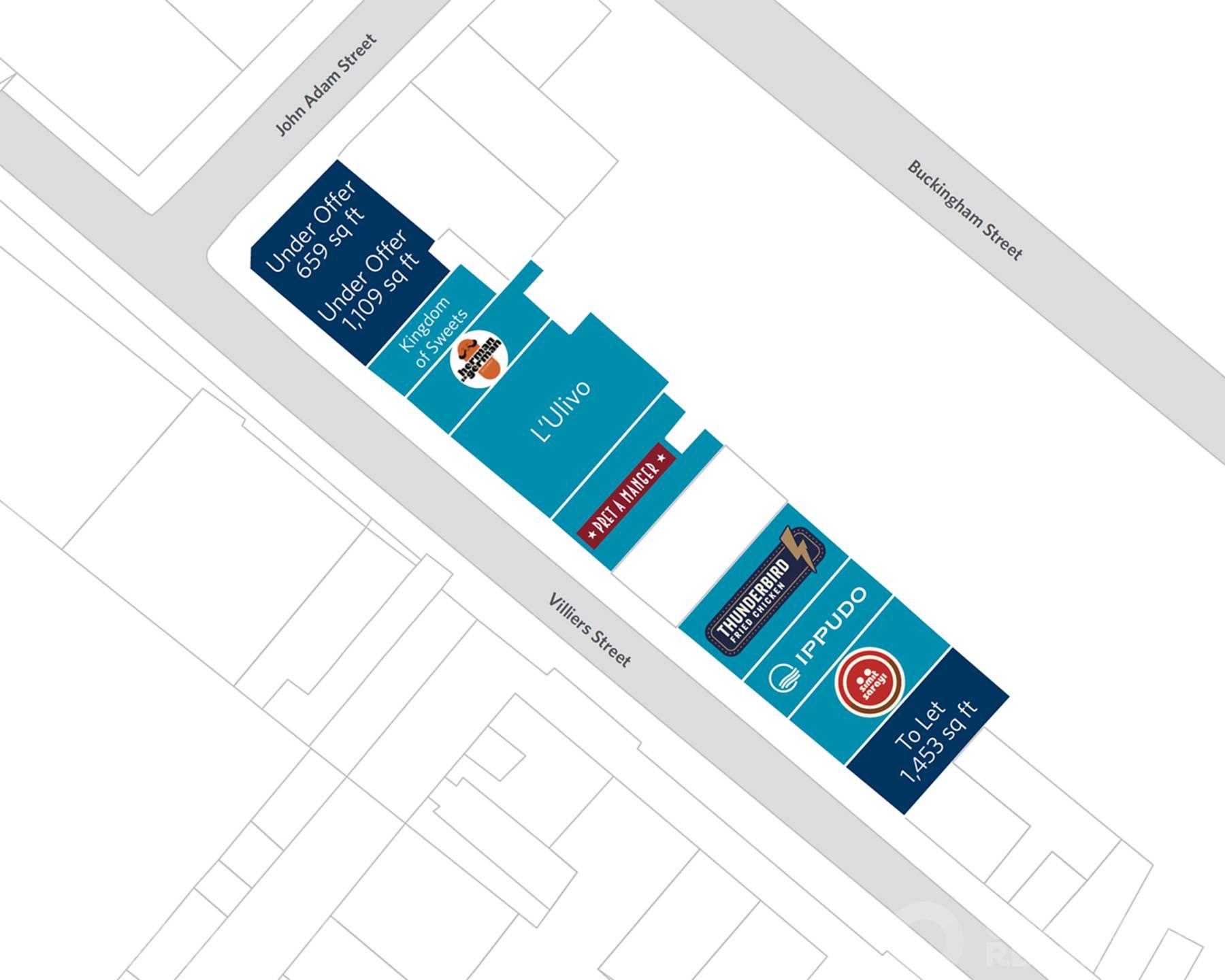 31 John Adam Street and 15-25 & 29-37 Villiers Street